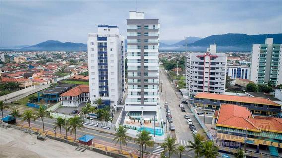 Apartamento Na Praia Mongaguá Pé Na Areia Só R$285 Mil V5734