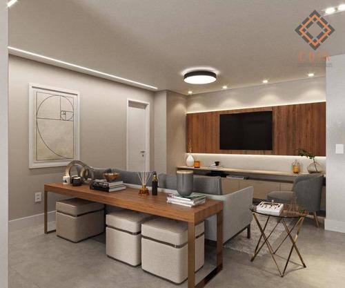 Apartamento Com 2 Dormitórios À Venda, 80 M² Por R$ 950.000,00 - Brooklin - São Paulo/sp - Ap22971