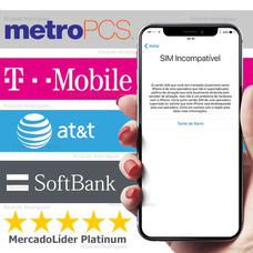 Desbloqueio Iphone Xs X 8 7 6 Oficial T-mobile At&t Softbank