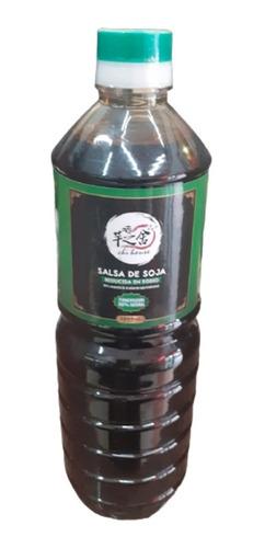 Imagen 1 de 2 de Salsa De Soja Baja En Sodio 1 Litro