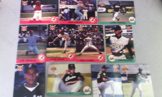 Line Up 94 95 Y Score 92 Barajitas Beisbol Profesional
