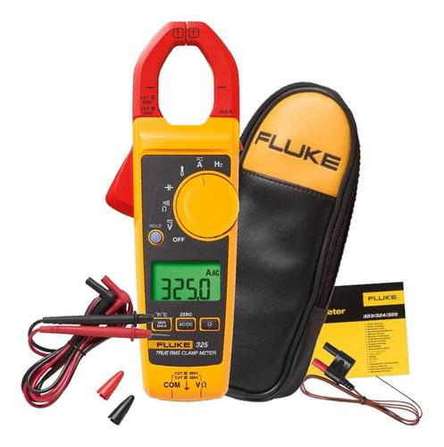 Alicate Amperimetro 400a-600v Ac/dc Fluke 325 + Bolsa