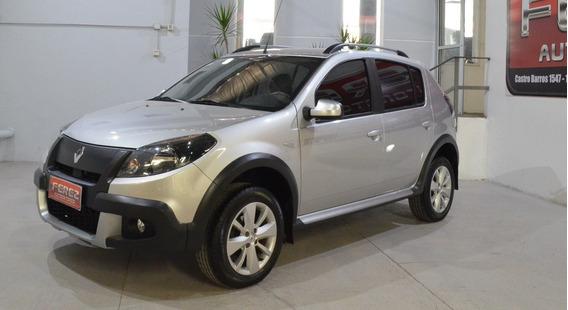 Renault Sandero Srepway Privilege Nav 2014 Nafta Gris Excele