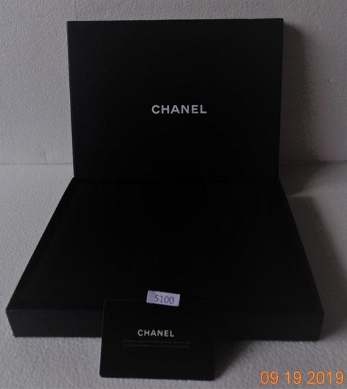 Chanel Estuche P/joyeria 24.5x19.5 Cm.c/caja Exterior #s100