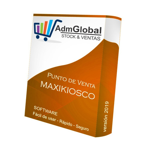 Admglobal 2x1 Programa Software Kiosco Maxikiosco Drugstore