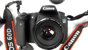 Eos Canon 60d, Apenas (2142) Clicks + Lente + Memória...