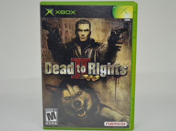 Dead To Rights 2 Xbox Classic Classico Original Americano