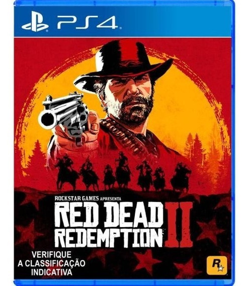 Red Dead Redemption 2 - Ps4 - Midia Digital