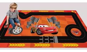 Hot Wheels Pista Tapete Cars Pixar Mcqueen 0,60x1,00