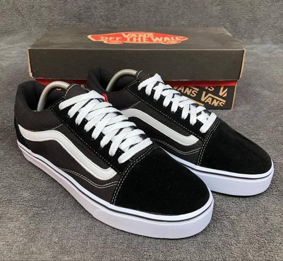 Tênis Vans Old Skool Casual / Feminino+ Masculino// Black