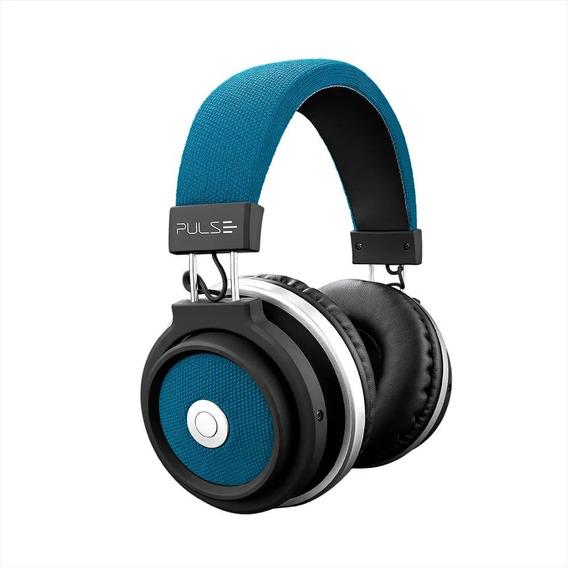 Pulse Fone De Ouvido Bluetooth Large Azul - Ph232