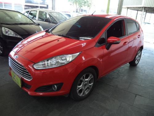 Ford New Fiesta 1.6 Se Flex Completo Rodas, 2014 Vermelho