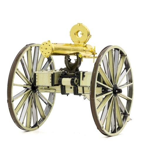Modelo De Ametralladora Gatling Para Armar Fascinations