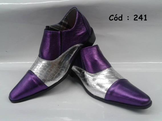 Sapato Social Artesanal Em Couro Mod:239;240;241;242;244;446