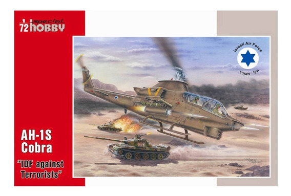 Ah-1s Cobra Idf Against Terrorists 1/72 Special Hobby 72277