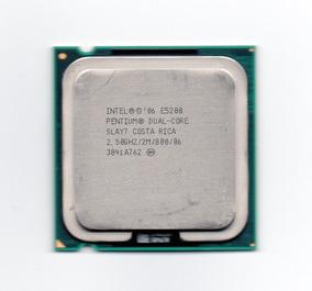 Processador Intel Dual Core E5200 2.50ghz Lga 775 Fsb 800