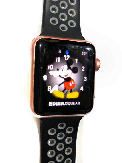 Apple Watch Serie 1 38mm Rosegold Rosa Dorado Liberado Smart
