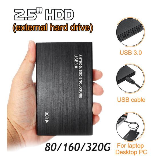 Bestrunner 2.5 disco Rígido Externo Usb 3.0 80 Gb/160 Gb/32
