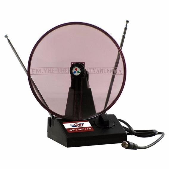 Antena Interna Mini Parabolica Hdtv G20