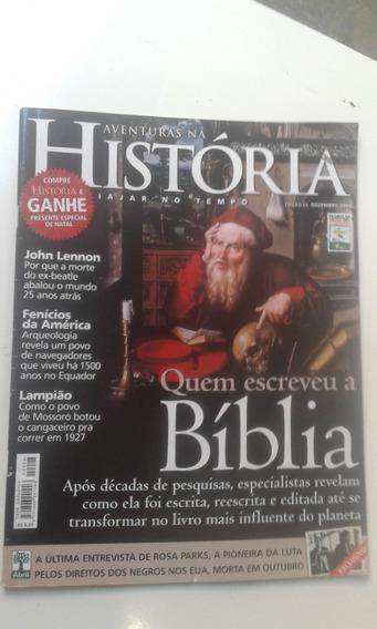 Revista - Aventuras Na História 28 - Quem Escreveu A Bíblia
