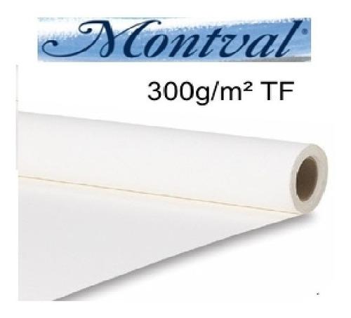 Rolo Papel Aquarela Canson Montval 300g T Fina 1,52x10metros