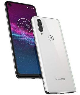 Motorola One Action 128gb, Branco Vitrine