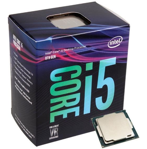 Processador Intel Core I5-8400 (lga1151 - 6 Núcleos - 2.8ghz) - Bx80684i58400