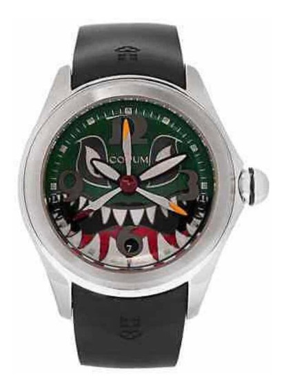 Relógio Corum Bubble 47 Shark Dive Bomber Novo Original Top
