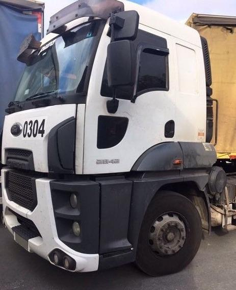 Ford Cargo 2842 - 6x2 - 2014 - Teto Alto - Automático