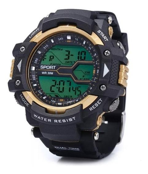 Relógio Esportivo Sport Temos Nas Duas Cores Disponíveis