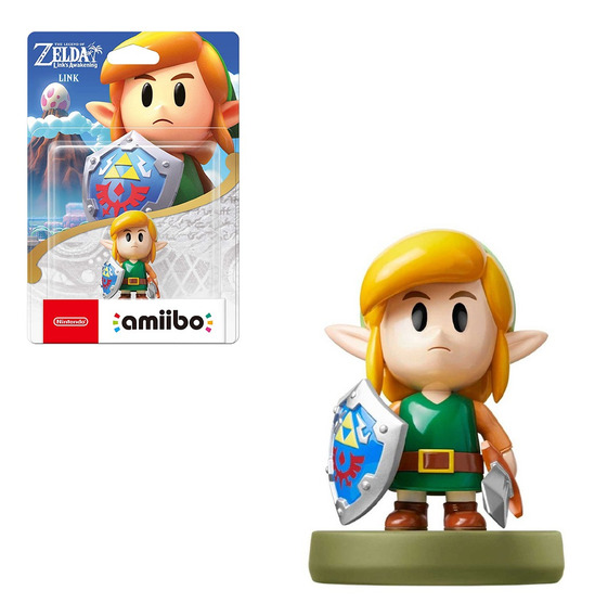Boneco Amiibo Link Awakening The Legend Of Zelda Switch