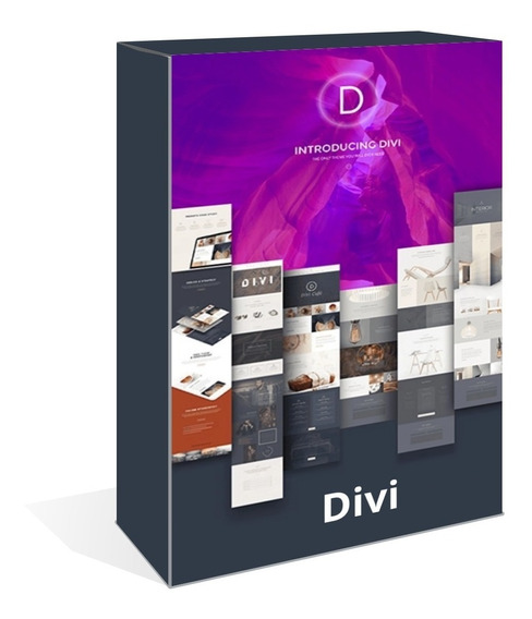 Tema Divi Wordpress V3.26.6 Com Page Builder + Layout Pack