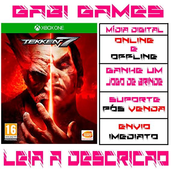 Tekken 7 - Xbox One Midia Digital Offline + Brinde