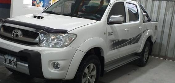 Toyota Hilux 3.0 I Srv Cab Doble At 4x4 Cuero 2009