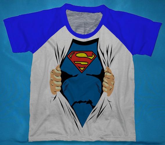 Camisetas Superman Infantis - Qad
