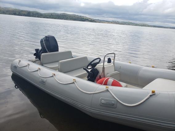 Semirrigido Lakes Matrizado Motor Mercury 60 Hp 4 Tiempos