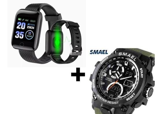 Relógio Inteligente Smartwatch + Relógio Digital Promoção