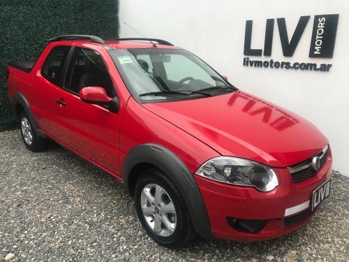 Fiat Strada Trekking 1.3 16v Jtd Año 2016 - Liv Motors