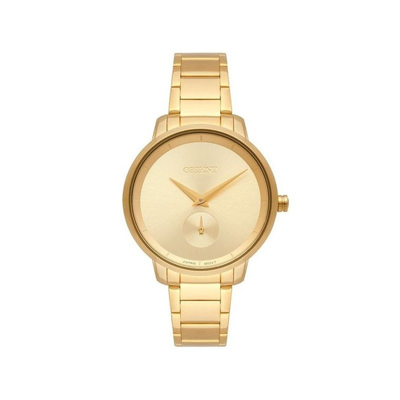 Relógio Orient Feminino Dourado Fgss0121 C1kx