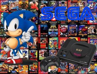 Coleccion Sega Genesis Megadrive Totalmente Completa! Retro!