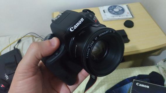 Canon Sl1 (100d) Somente Corpo -muito Nova - Leia Descrição