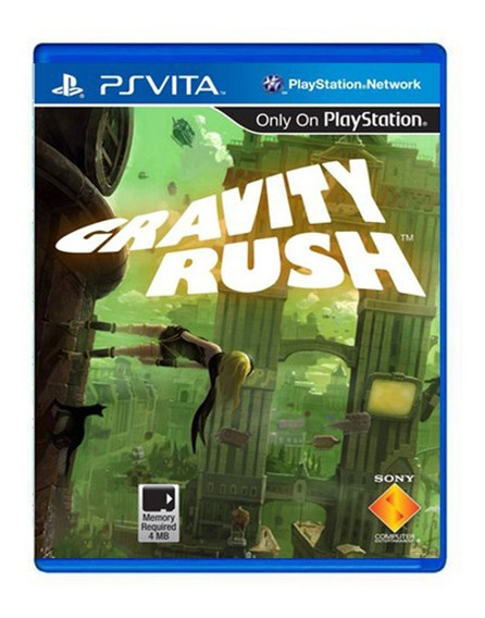 Gravity Rush - Ps Vita - Usado - Original
