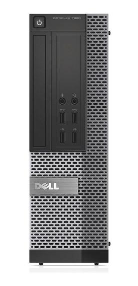 Cpu Dell Optiplex Sff 7020 Core I5 4ªg 4gb Ssd 120gb Wifi