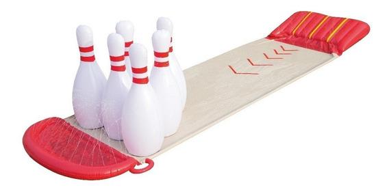 Deslizador Bestway Bowling Go Slide Splash 52213 Liquido!