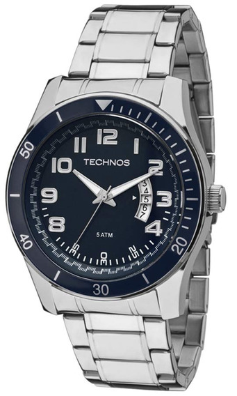 Relógio Technos Masculino Performance Racer 2115ksl/1a