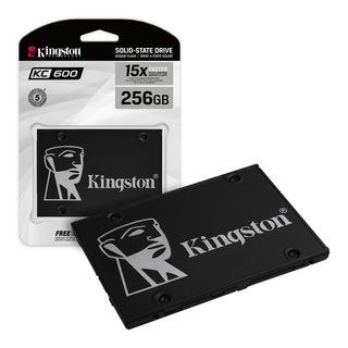Disco Solido Ssd 256gb Kingston Kc600 Sata 550mb/s Nand Tlc