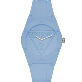 Relógio Guess Retro Pop Silicone Azul W0979l6 U0979l6