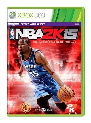 Jogo Xbox 360 Nba 2k15