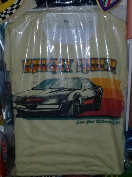 Remera Retro 80s Niño Auto Fantastico Kit Serie Tv ¡¡¡¡