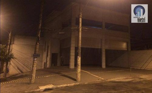Salão Comercial Em Local Privilegiado! Novo Pronto Para Montar Seu Comércio Com 10 Vagas De Estacionamento, Espaço Conforto! Age - Sl0074